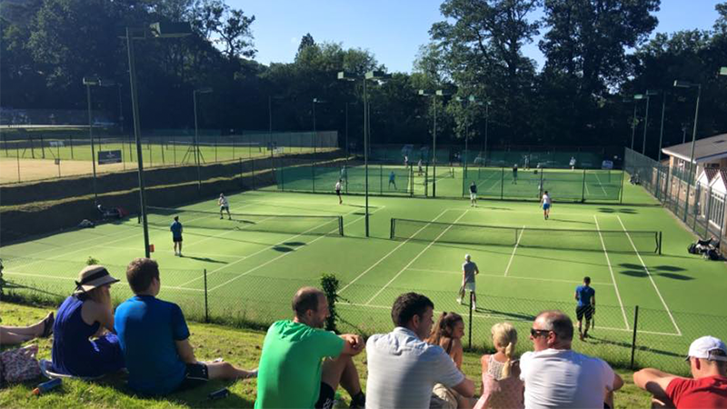 Nature Valley Tennis Open Day Success