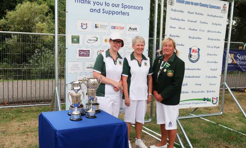 Worcestershire County Ladies Pairs