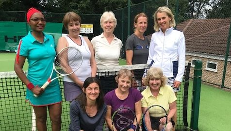 Charity Tennis Tournament for St Richard's Hospice