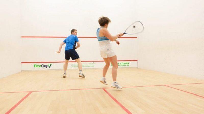 Squash 57 in action